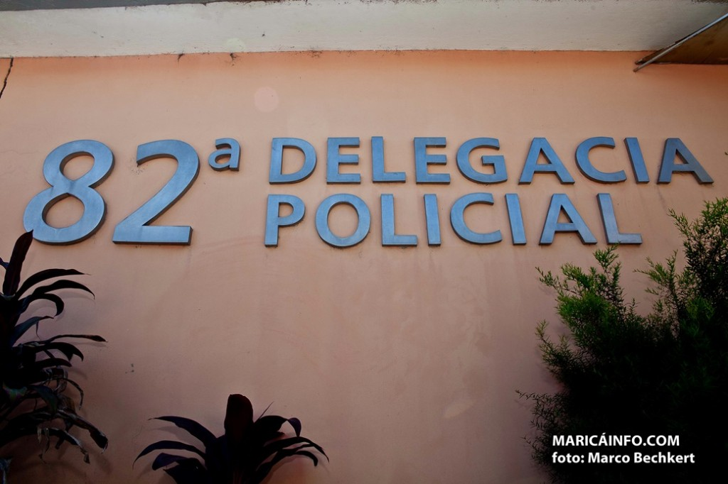 Menor foi apreendido em tentativa de assalto em Cordeirinho e encaminhado para a 82ª DP (Maricá). (Foto: Marco Bechkert | Maricá Info)