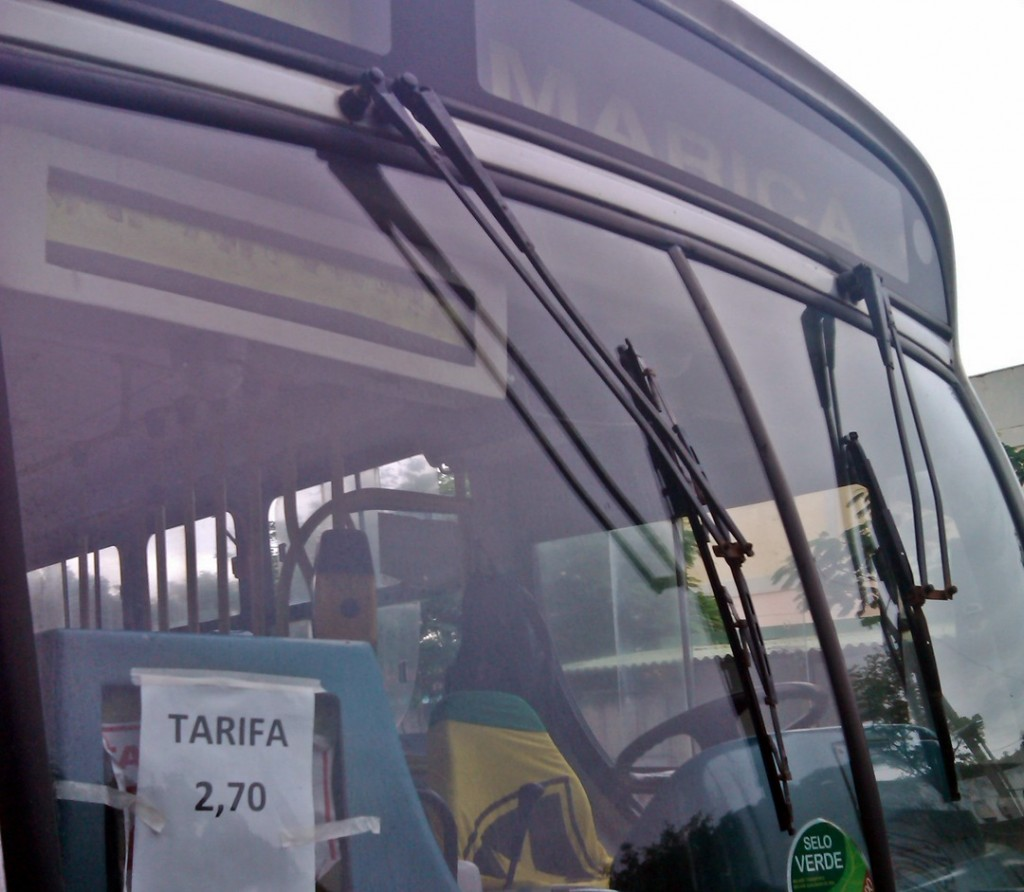 Ônibus já circulam com o novo valor em Maricá. (Foto: João Henrique | Maricá Info)
